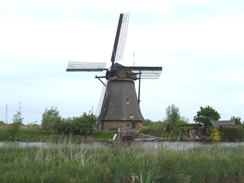 old windmill in the Netherlands