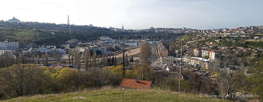 панорама Севастополя фото