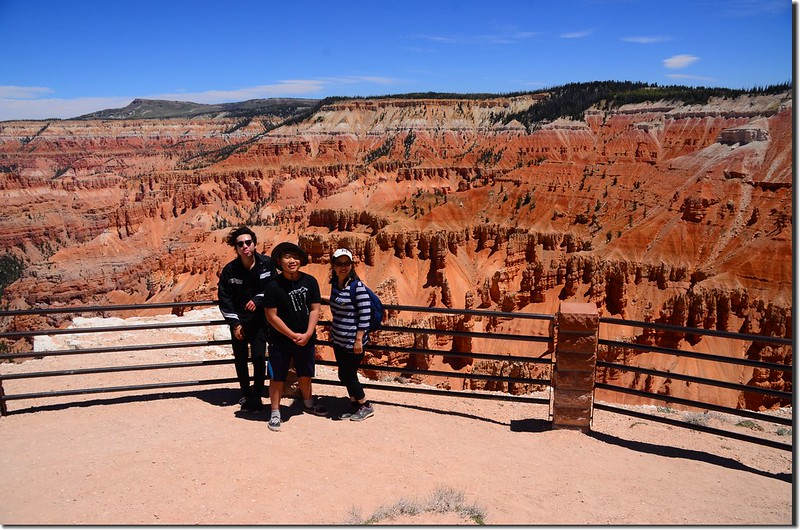 Taken from Spectra Point, Cedar Breaks (1)
