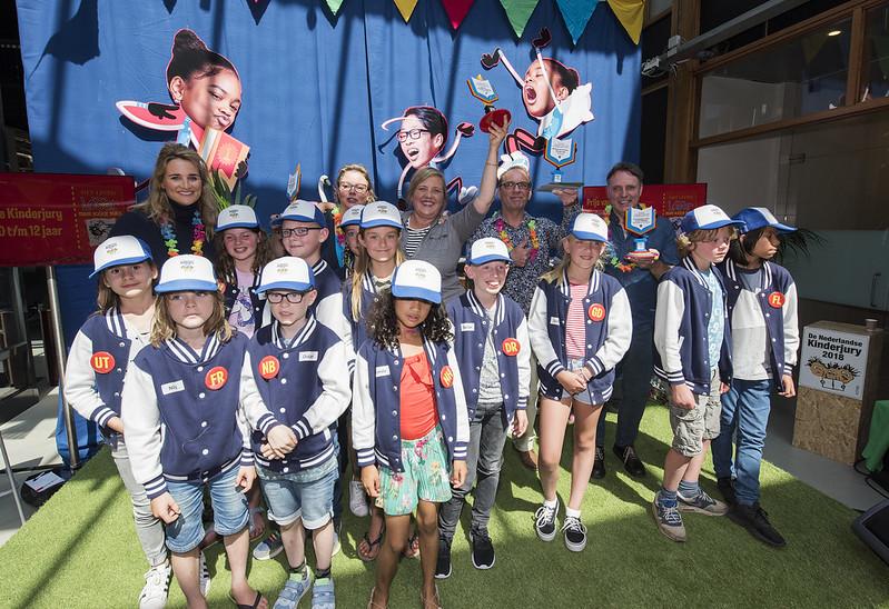 De Nederlandse Kinderjury 2018 - Prijsuitreiking