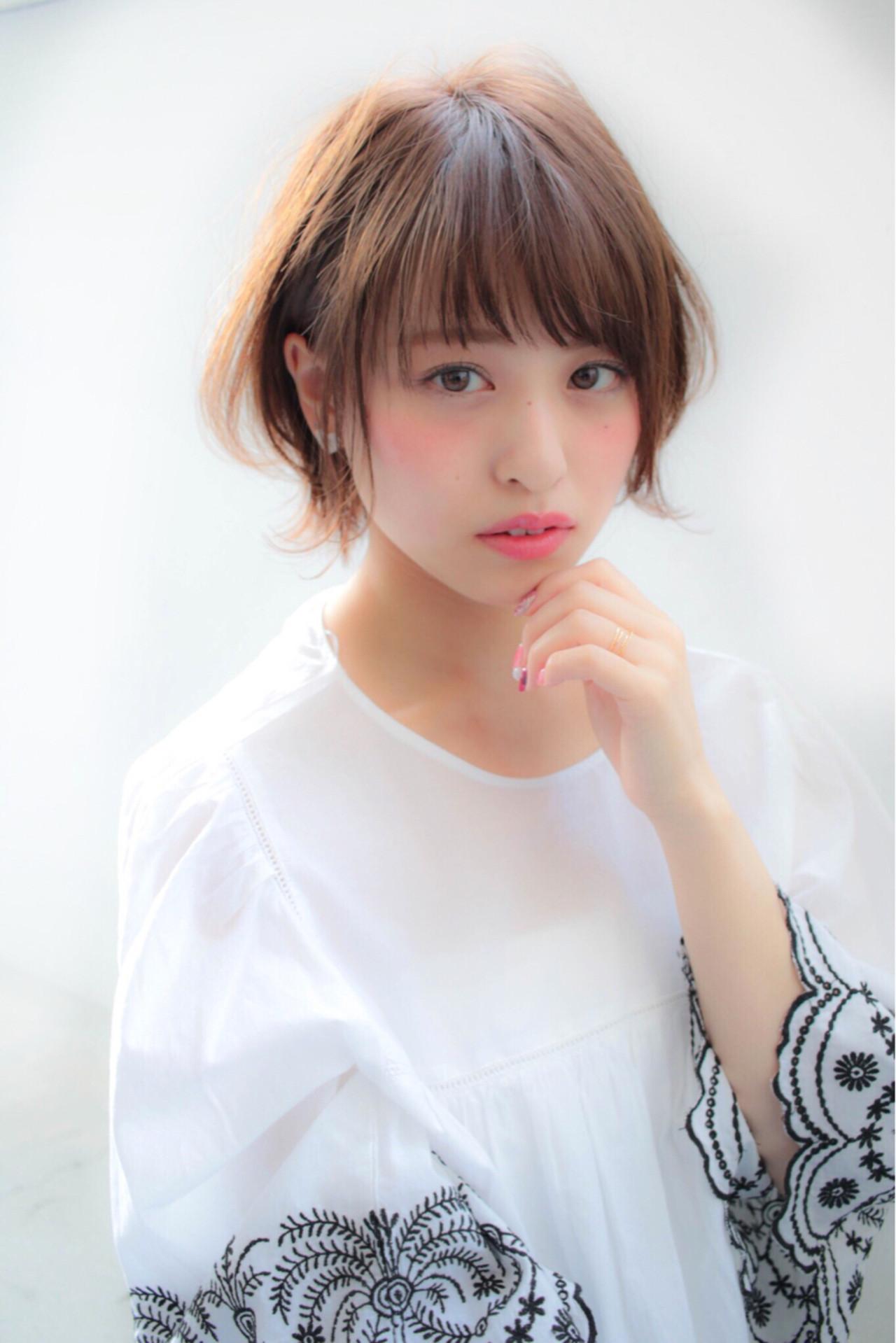 2018 Japanese Short Bob Hair Taste Different Hair Catalog