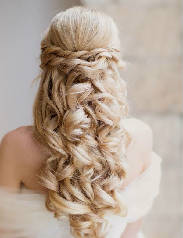 Fanciful Wedding Hairstyles 2018 For Chic Long Hair |Exclusive 10