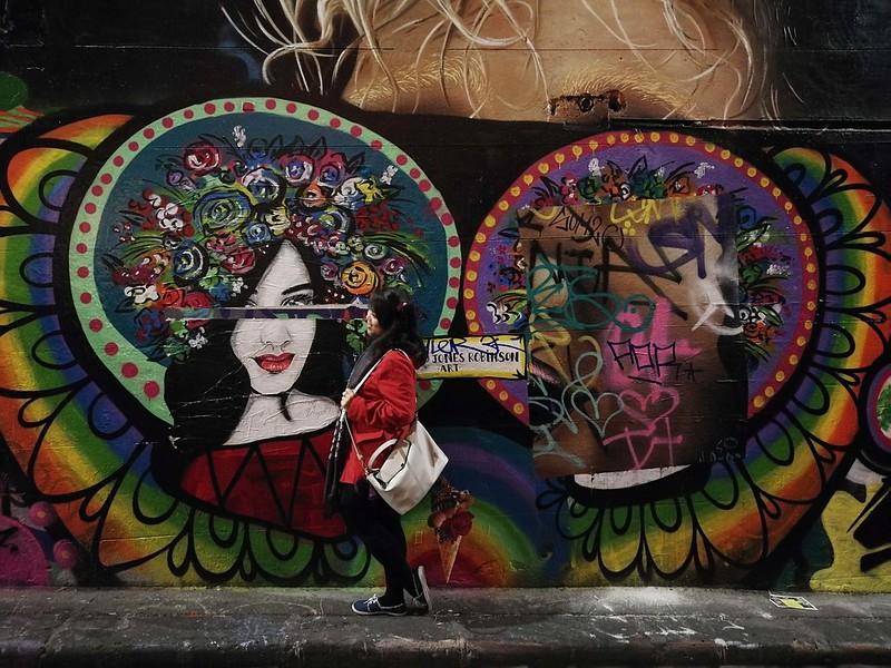 2017 Australia Melbourne Day 1 Hosier Lane Graffiti Street Art 2