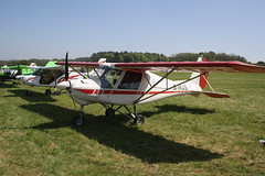 G-IKUS Ikarus Comco C-42 [PFA 322-14130] Popham 060518