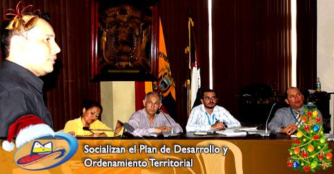 Socializan el Plan de Desarrollo y Ordenamiento Territorial
