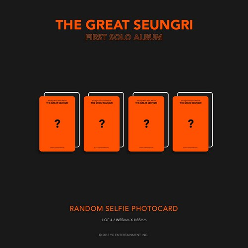 Seungri THE GREAT SEUNGRI Solo Album 2018 (16)