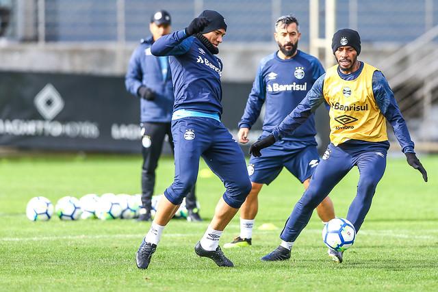 Treino Grêmio 10/07/18