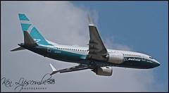 N7201S Boeing 737-7 MAX c/n 42561 Boeing Company (EGLF-Farnborough) 12