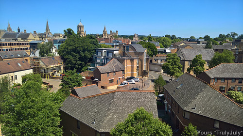 Westgate Oxford Rooftop: Far reaching views over Oxford