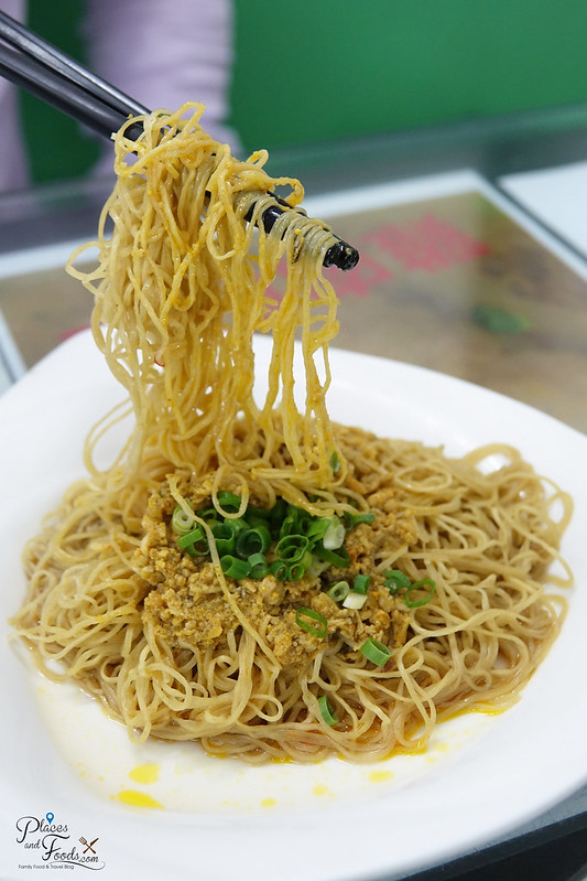 San Long Kei Mei Sek crab roe noodles