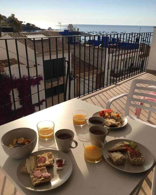 tuesday, breakfast, calella de palafrugell