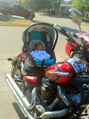 Sterling's First Ride