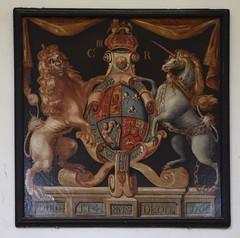 G III R royal arms 1764