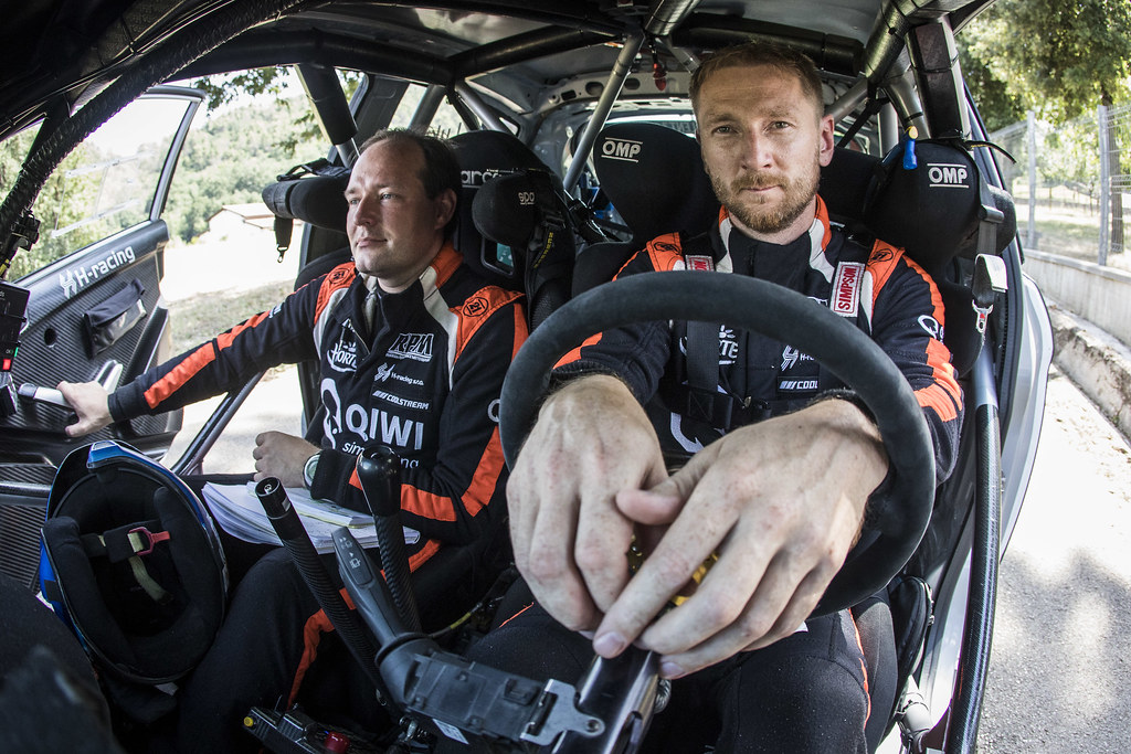 LUKYANUK Alexey (RUS), Alexey Arnautov (RUS), Russia Performance Motorsport, FORD FIESTA R5, during the 2018 European Rally Championship ERC Rally di Roma Capitale,  from july 20 to 22 , at Fiuggi, Italia - Photo Gregory Lenormand / DPPI