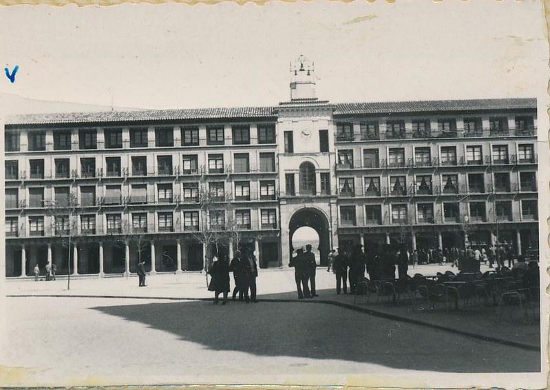 Zocodover en 1962. Fotografía de Julián C.T.