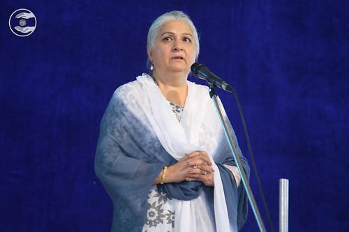 Holy Sister Mohini Ahuja Ji from Hyderabad
