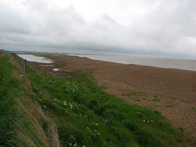 The coast near Shingle Street