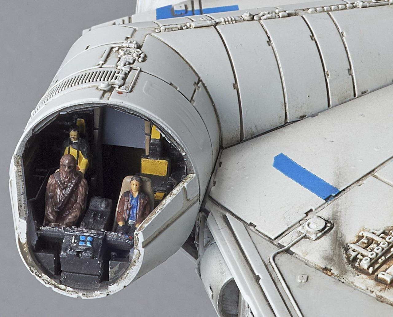 Falcon Lando 144 Bandai 03