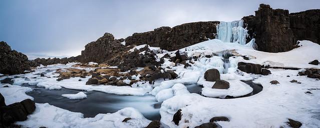 White Öxarárfoss, Nikon D810, AF-S Nikkor 18-35mm f/3.5-4.5G ED