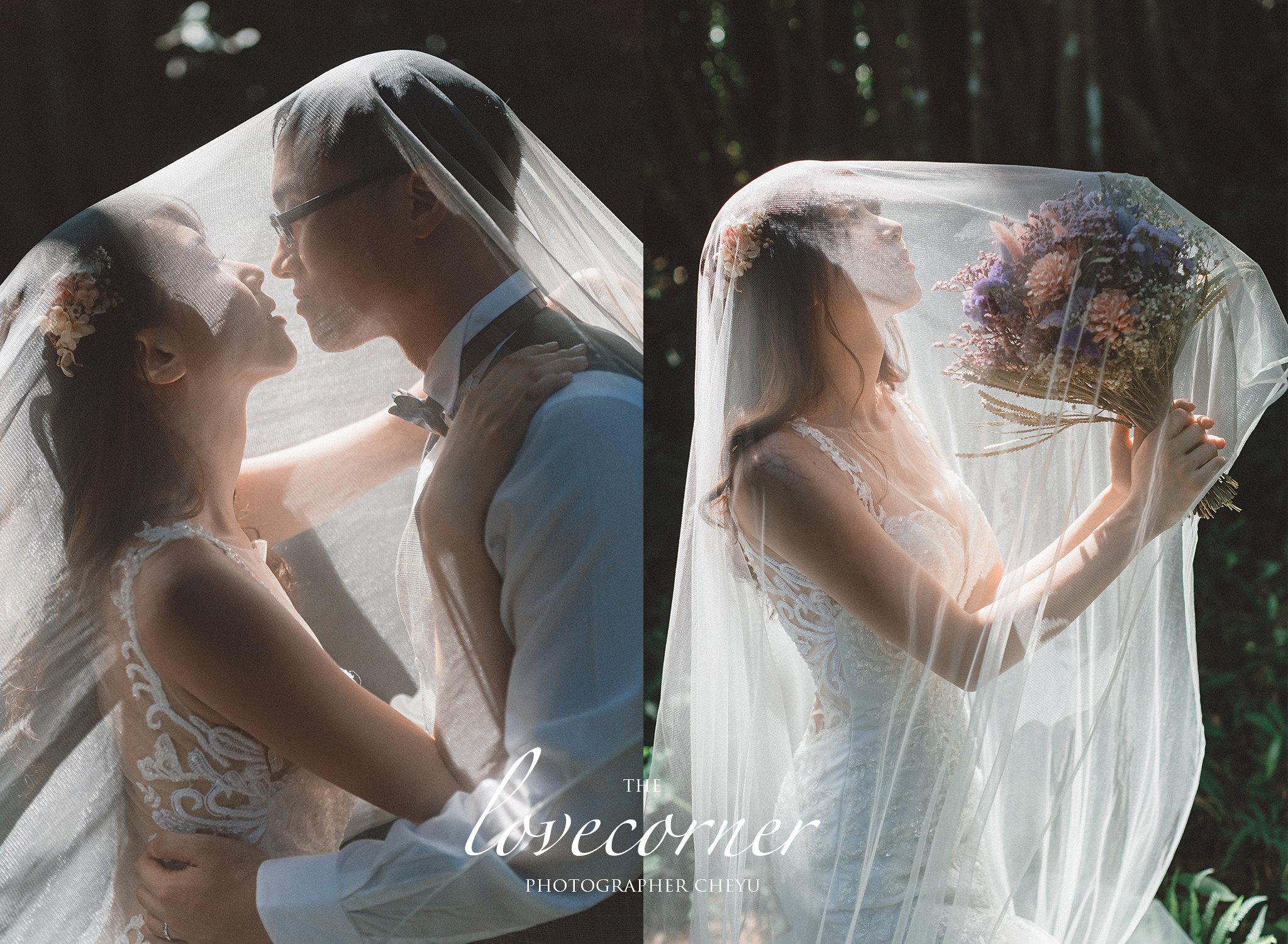 墾丁婚紗 - 清新森林系&  私人沙灘景點   Fantasy范特囍手工婚紗