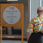 Unveiling the new plaque for the re-opening of Preston Bus Station - 28