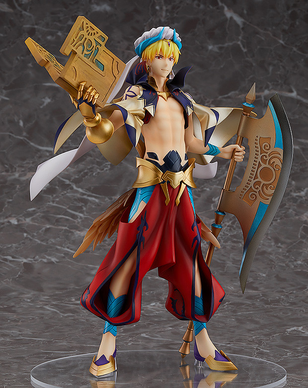 Fate/Grand Order Caster/Gilgamesh 1/8 Scale Figure is Here!