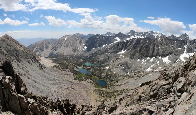 The views keep getting better as we climb the eastern ridge of Cloudripper