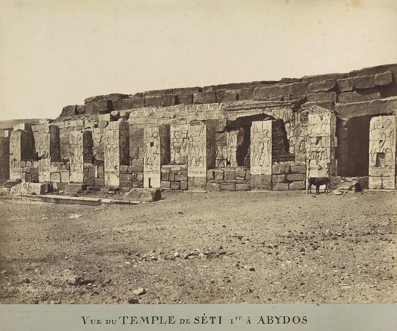 Древности Египта. Часть 73.  1870-е. Разрушенные памятники, произведения искусства