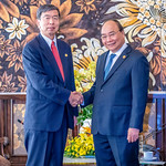 President Nakao joins Global Environment Facility Assembly, meets Viet Nam Prime Minister