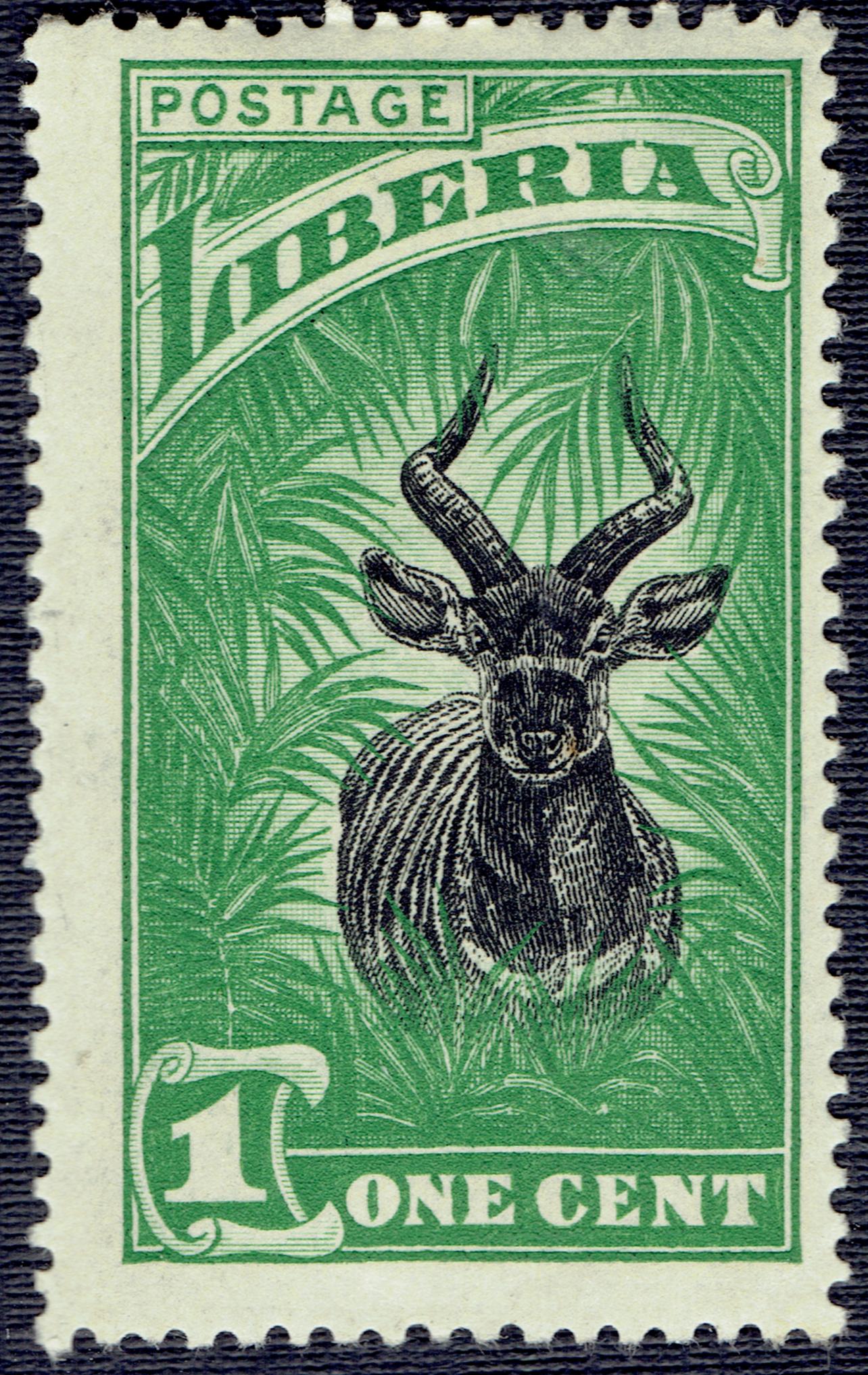 Liberia - Scott #163 (1918)