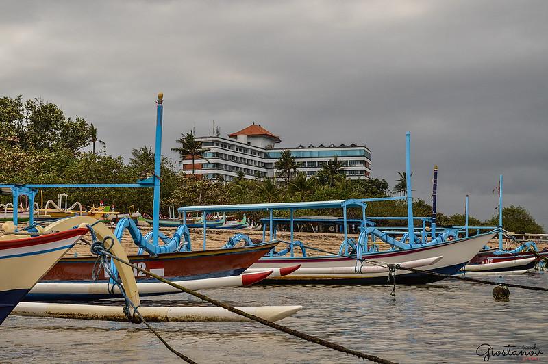 Jukung Nelayan Pantai Sanur