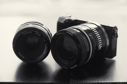 Sony and Nikon Nikkor lenses