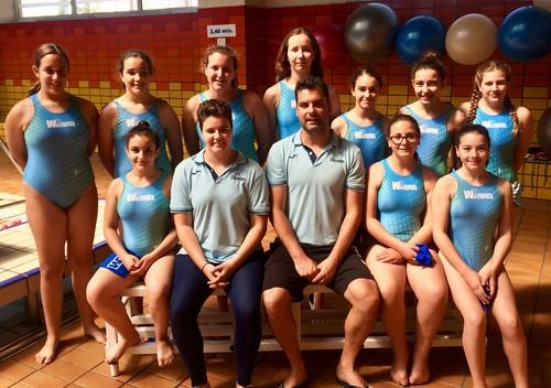 Club Waterpolo Dos Hermanas Equipo infantil para el Cto. de España