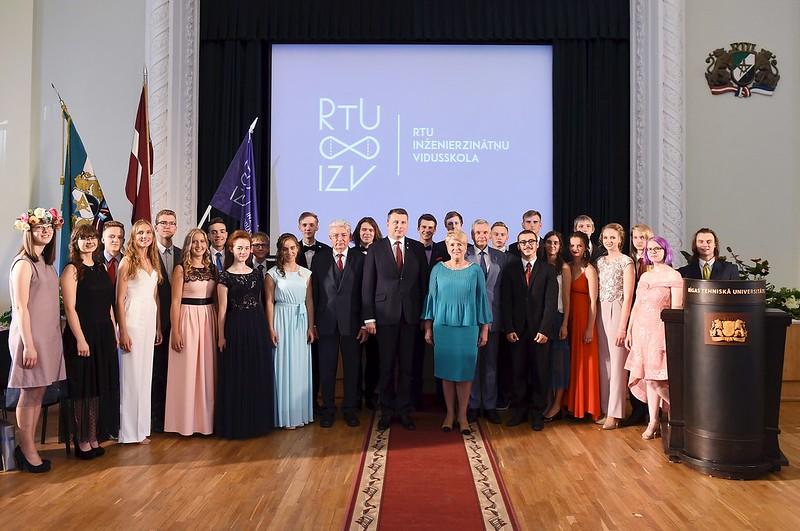 RTU Inženierzinātņu vidusskolas izlaidums