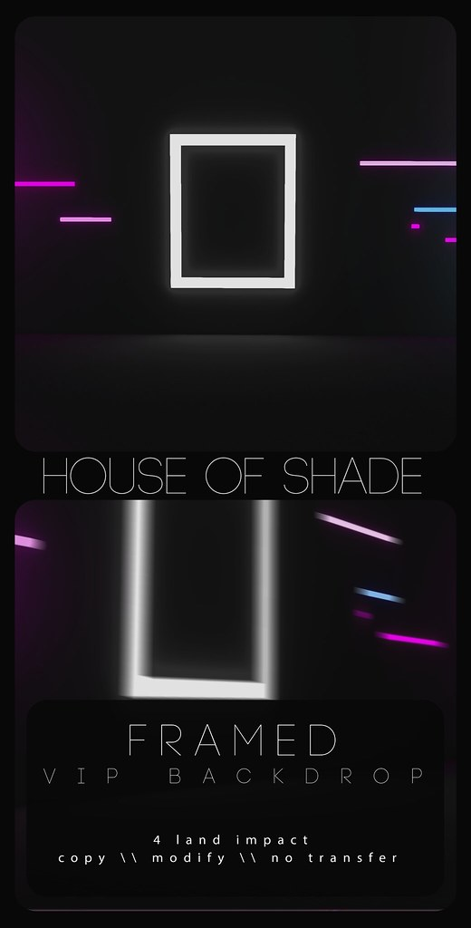 House Of Shade - Framed Backrop - TeleportHub.com Live!