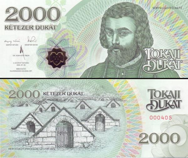 HAJDÚNÁNÁS (Maďarsko) 2000 Tokaji Dukat 2016