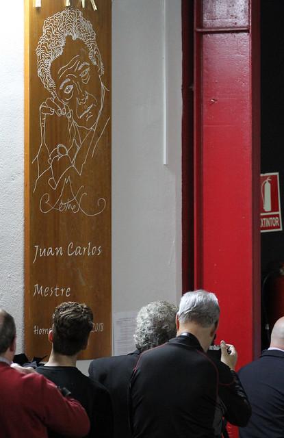HOMENAJE A JUAN CARLOS MESTRE - INSTITUTO JUAN DEL ENZINA - LEÓN 18.04.18