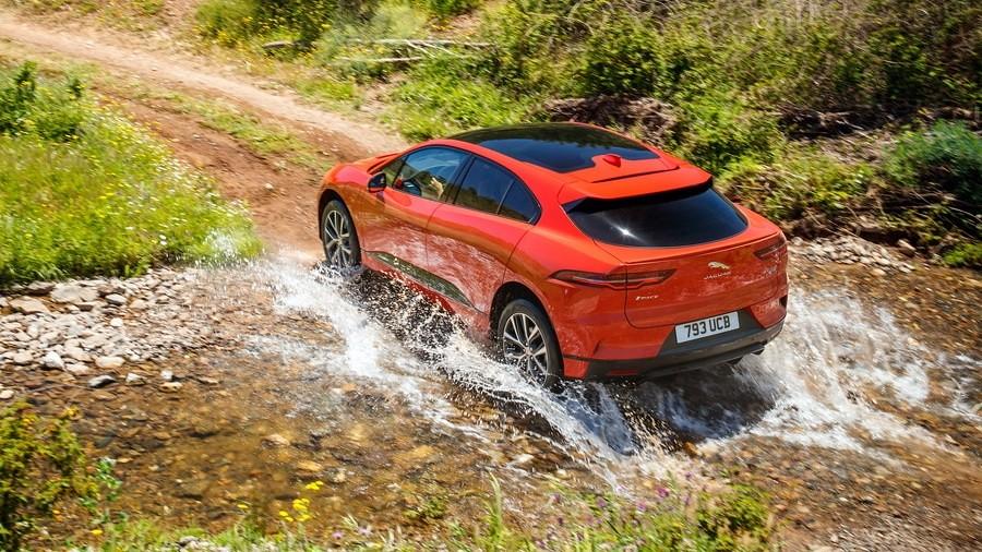 Jaguar I-Pace drive 4