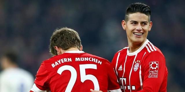 James Rodriguez Bahagia Di Bayern Munich