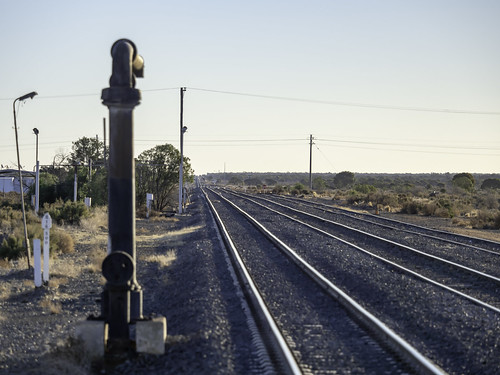 Broken Hill Trip - Day 1 - Outbound on Outback Xplorer Train