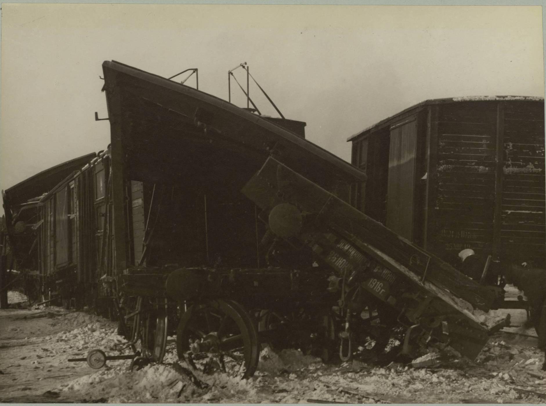 Катастрофа возле станции Камарчага, вызванная большевиками