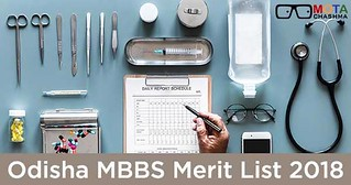 Odisha MBBS Merit List