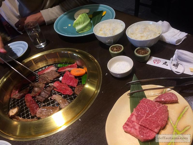 Babymoon ke Jepang - Grilled Wagyu Set