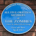 All five original members of The Zombies 1960s St Albans rock group first met here April 1961