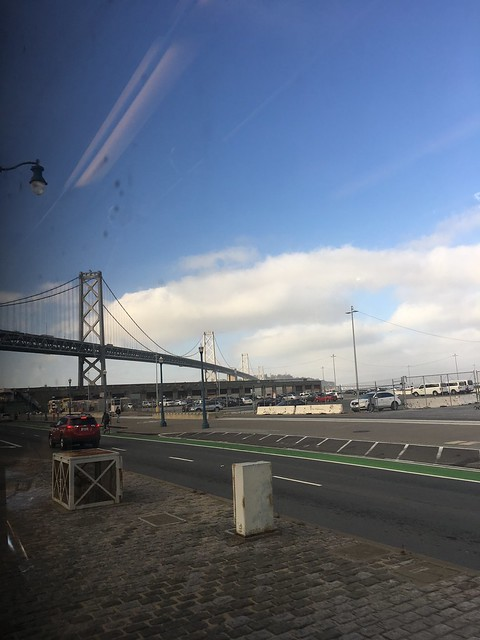 Bay Bridge commute on, Apple iPhone 6s, iPhone 6s back camera 4.15mm f/2.2