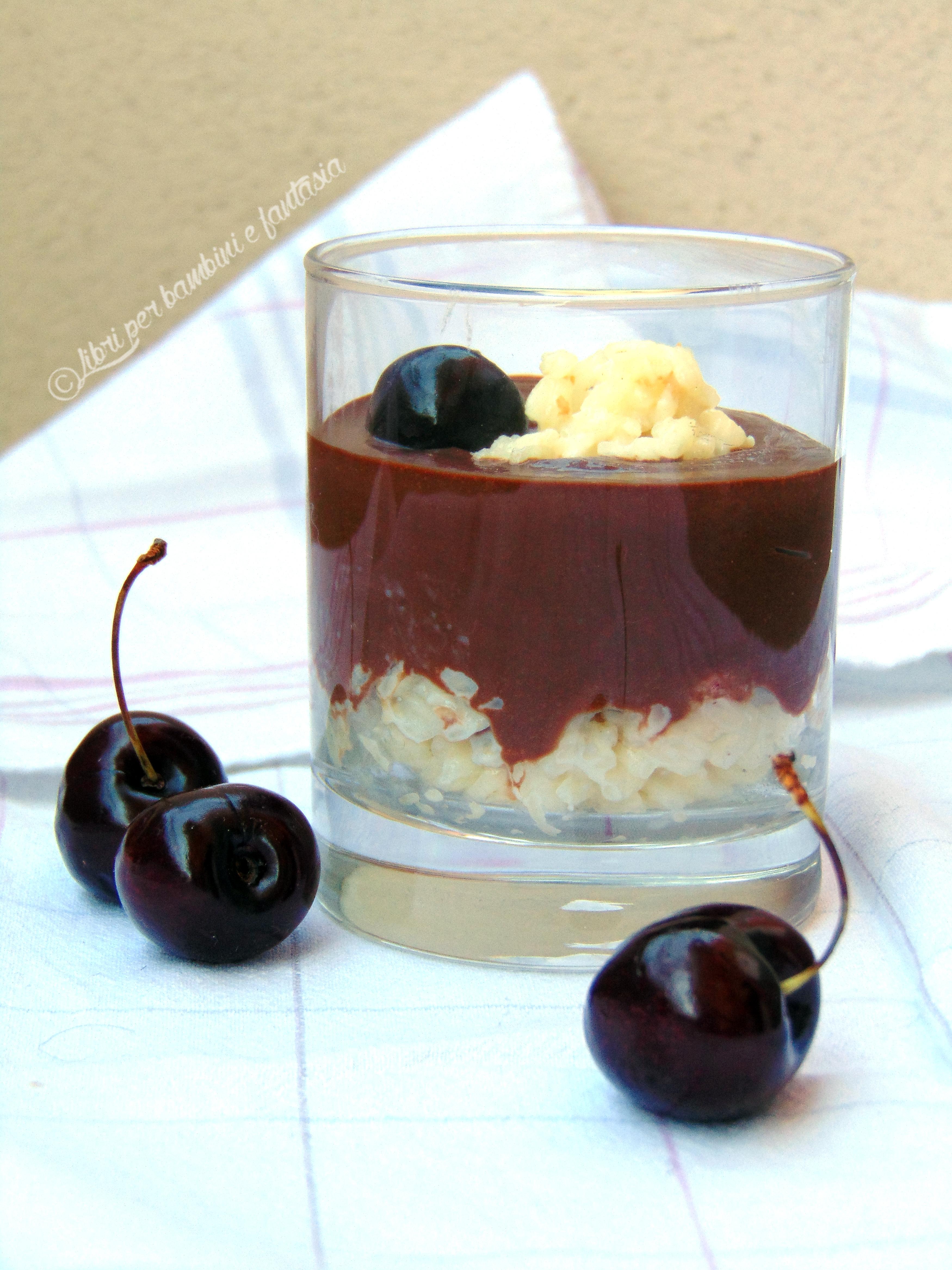 mousse al cioccolato e risolatte7BIS