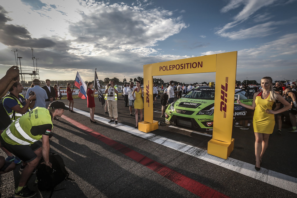08 NAGY Norbert, (hun), Seat Cupra TCR team Zengo Motorsport, AMBIANCE pole position during the 2018 FIA WTCR World Touring Car cup race of Slovakia at Slovakia Ring, from july 13 to 15 - Photo Jean Michel Le Meur / DPPI