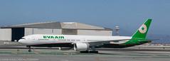 EVA Air 777 at KSFO
