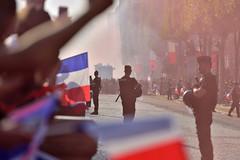 La Descente des Champs au pas de la Gendarmerie