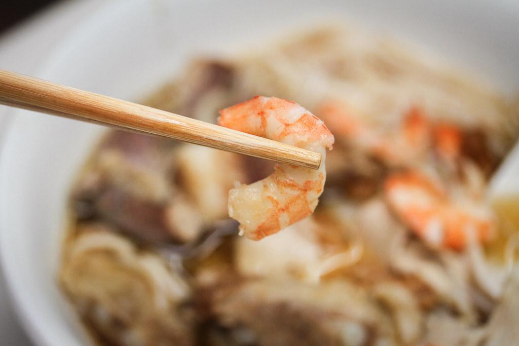 虾仁肠排虾面-虾